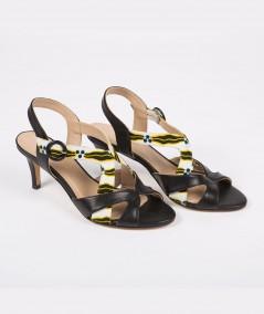 Sandales à talons Sally de Saint-Louis