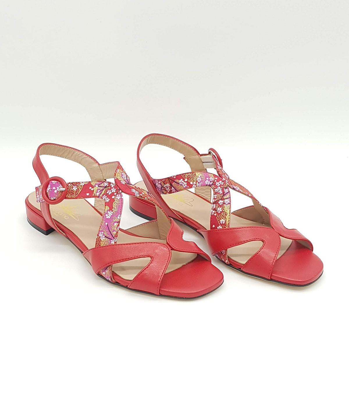 Sandales plates de Nagoya