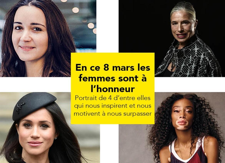 8 mars : 4 femmes inspirantes