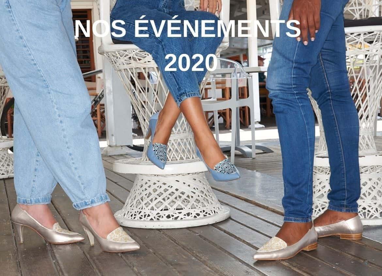 Calendrier de nos événements 2020